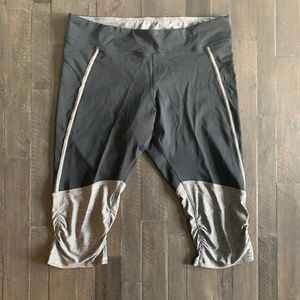 Champion Black and gray workout capris